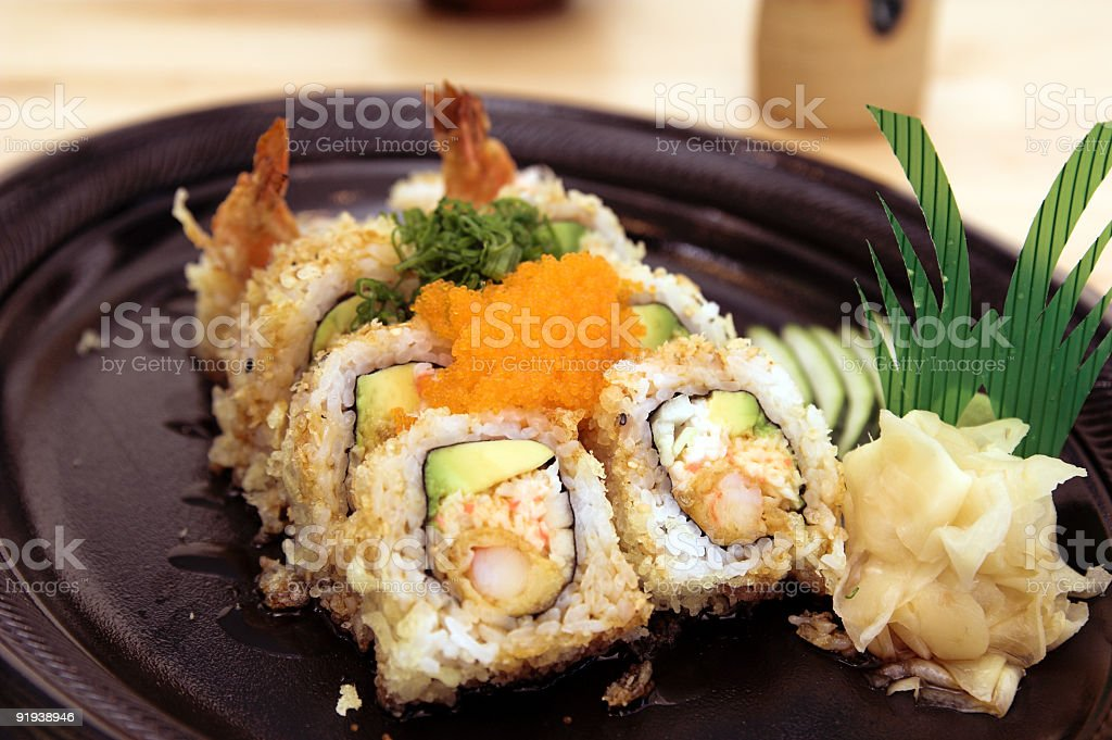 Crunch Roll royalty-free stock photo
