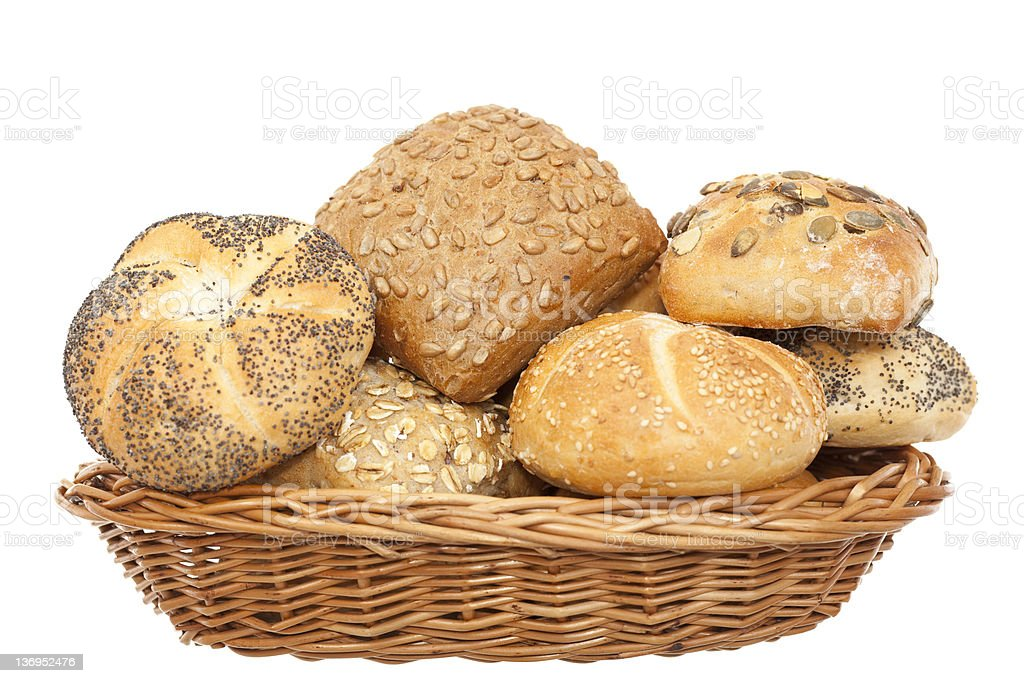 crunchy bun royalty-free stock photo