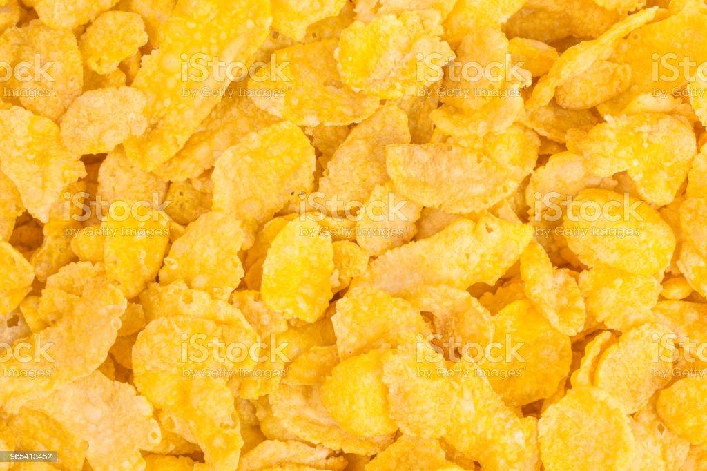 crunchy cornflakes royalty-free stock photo