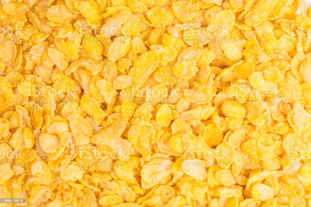 crunchy cornflakes royalty-free stock photo