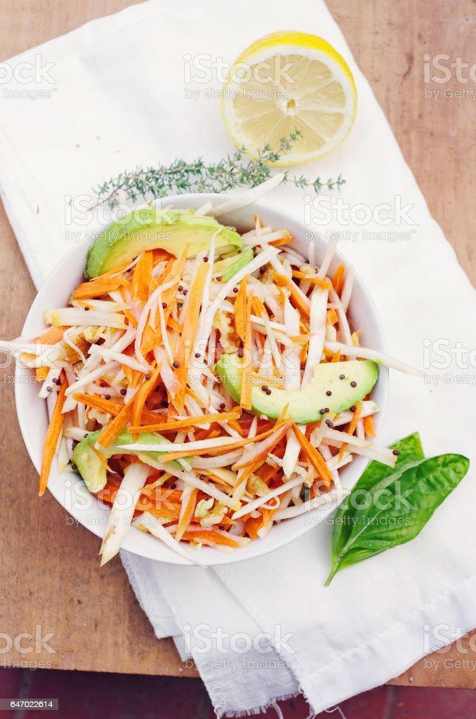 Crunchy salad stock photo