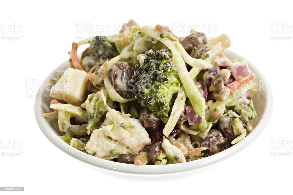 Crunchy Vegetable Salad. stock photo