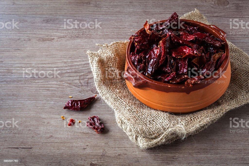 Cruschi peperoni - foto stock