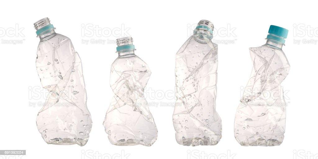 Botella de triturados - foto de stock