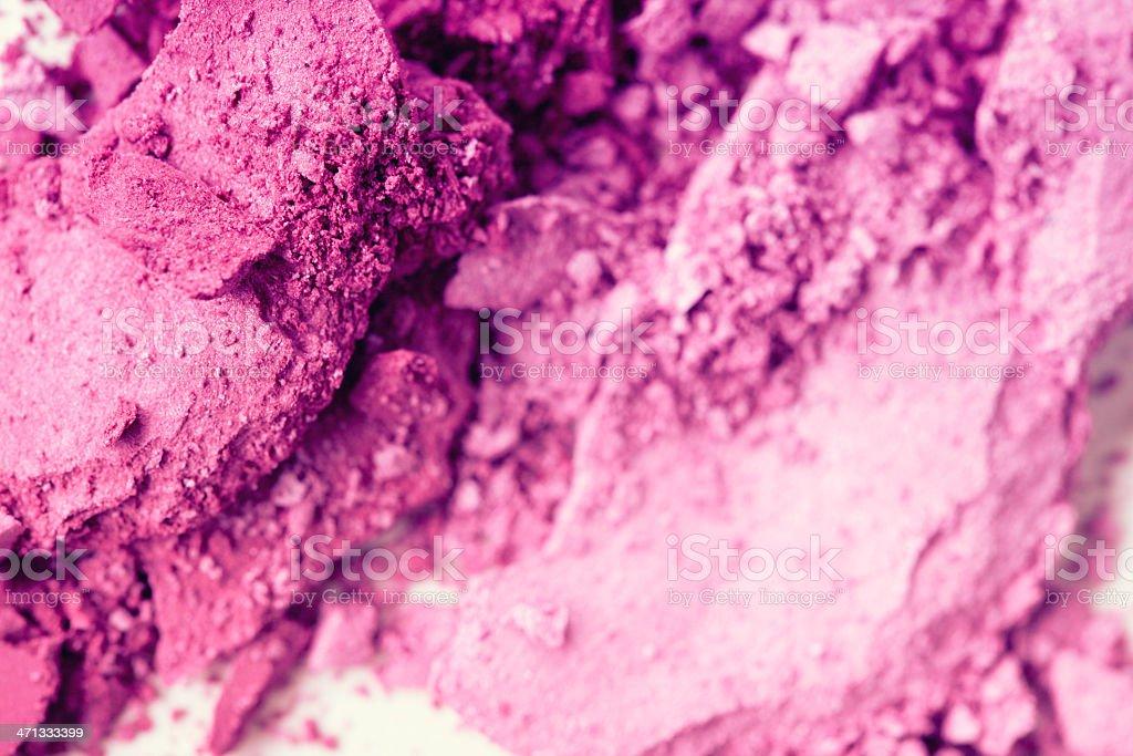 Crushed Makeup royalty-free stock photo