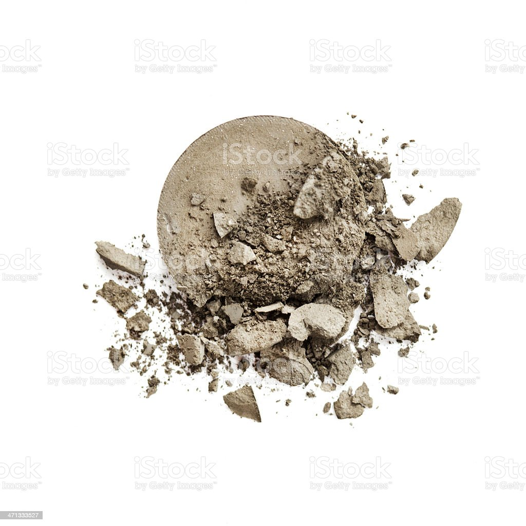 Crushed Makeup royalty-free stock photo