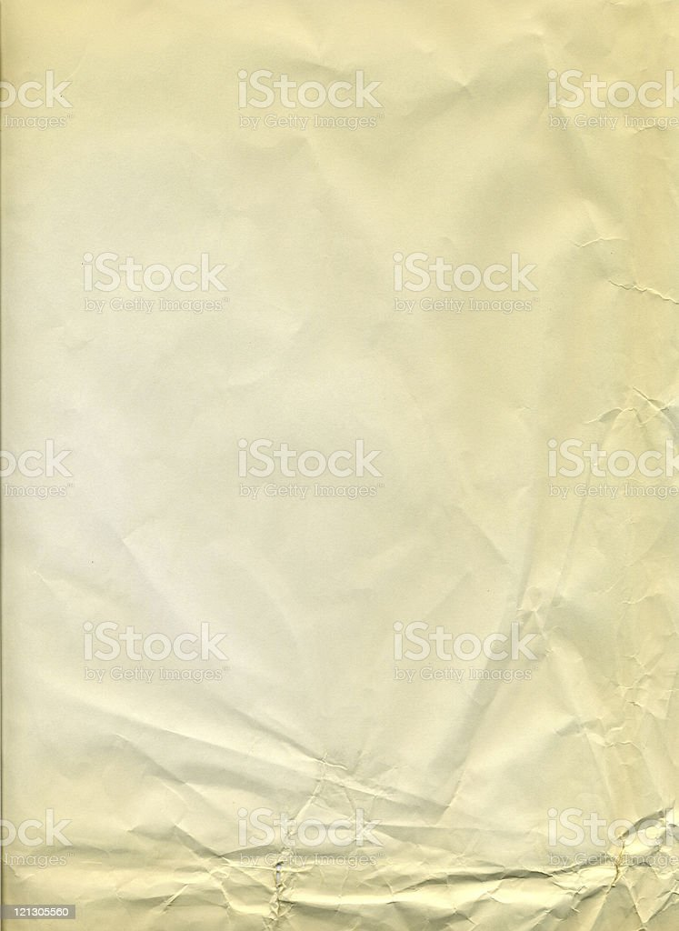 crushed old paper royalty-free stock photo