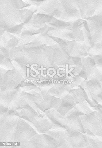 XXXL Crushed White Paper