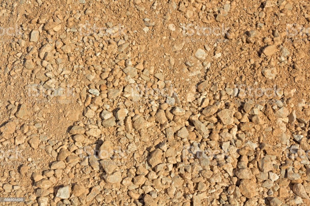Crushed stone for construction royalty-free stock photo