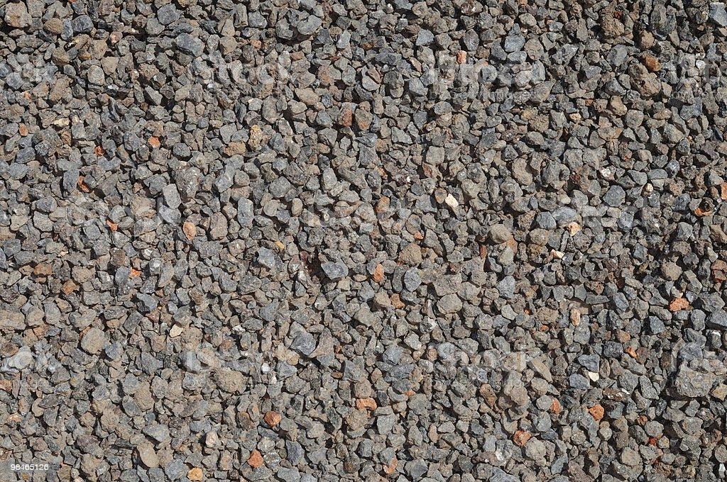 Crushed stone, granite royalty-free stock photo