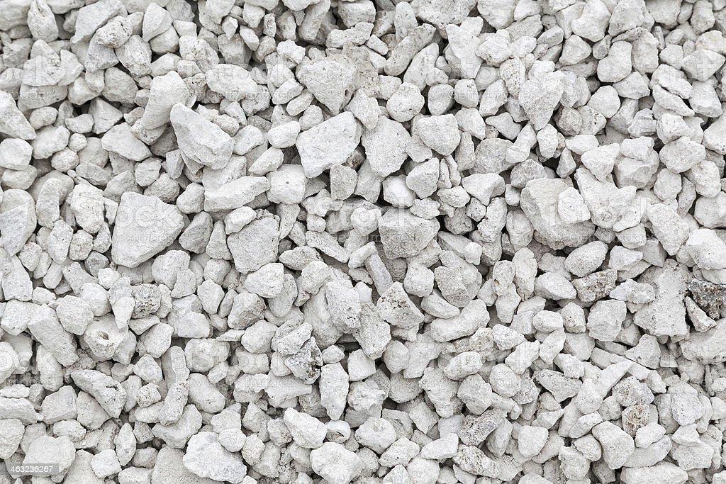 crushed stones stock photo