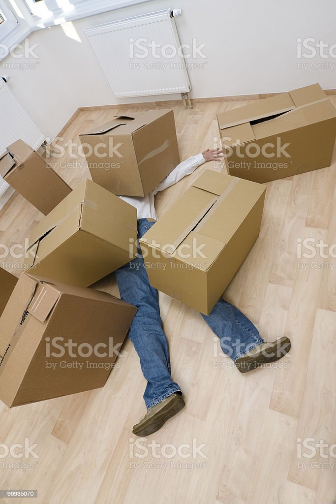 Crushed Underneath royalty-free stock photo