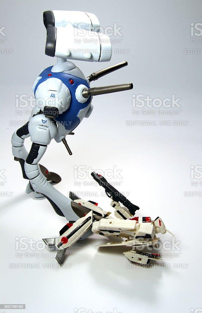 Crushing Battle stock photo