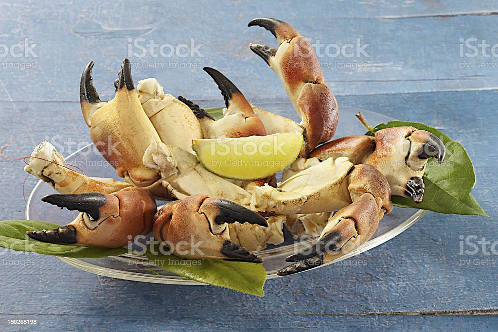 Crustaceans - Crab Claws royalty-free stock photo