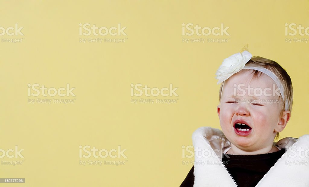 Cry Baby royalty-free stock photo