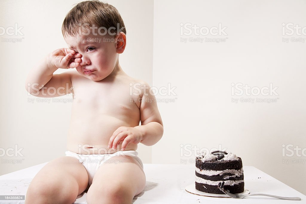 Cry Baby stock photo