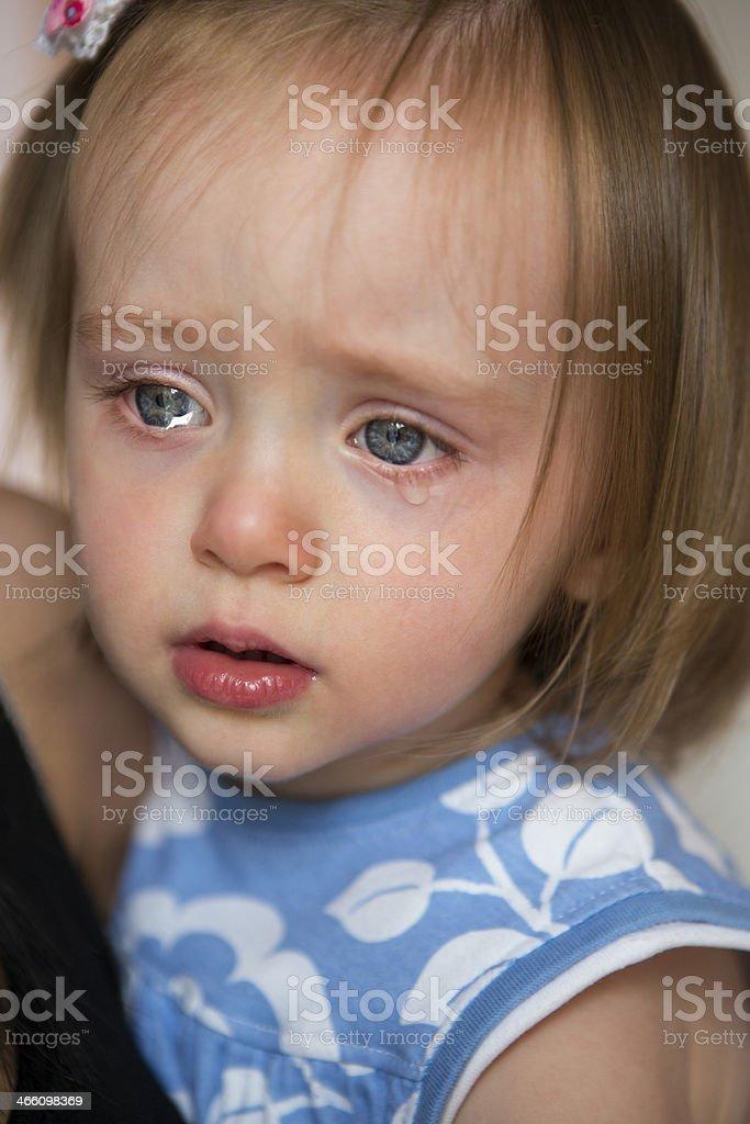 Cry Baby stock photo