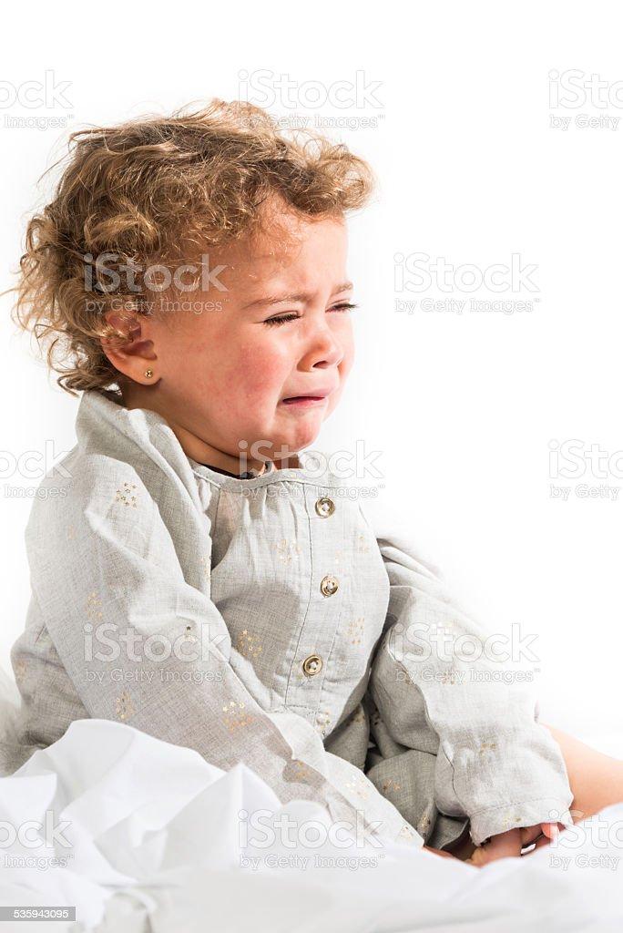 Weinen Baby – Foto