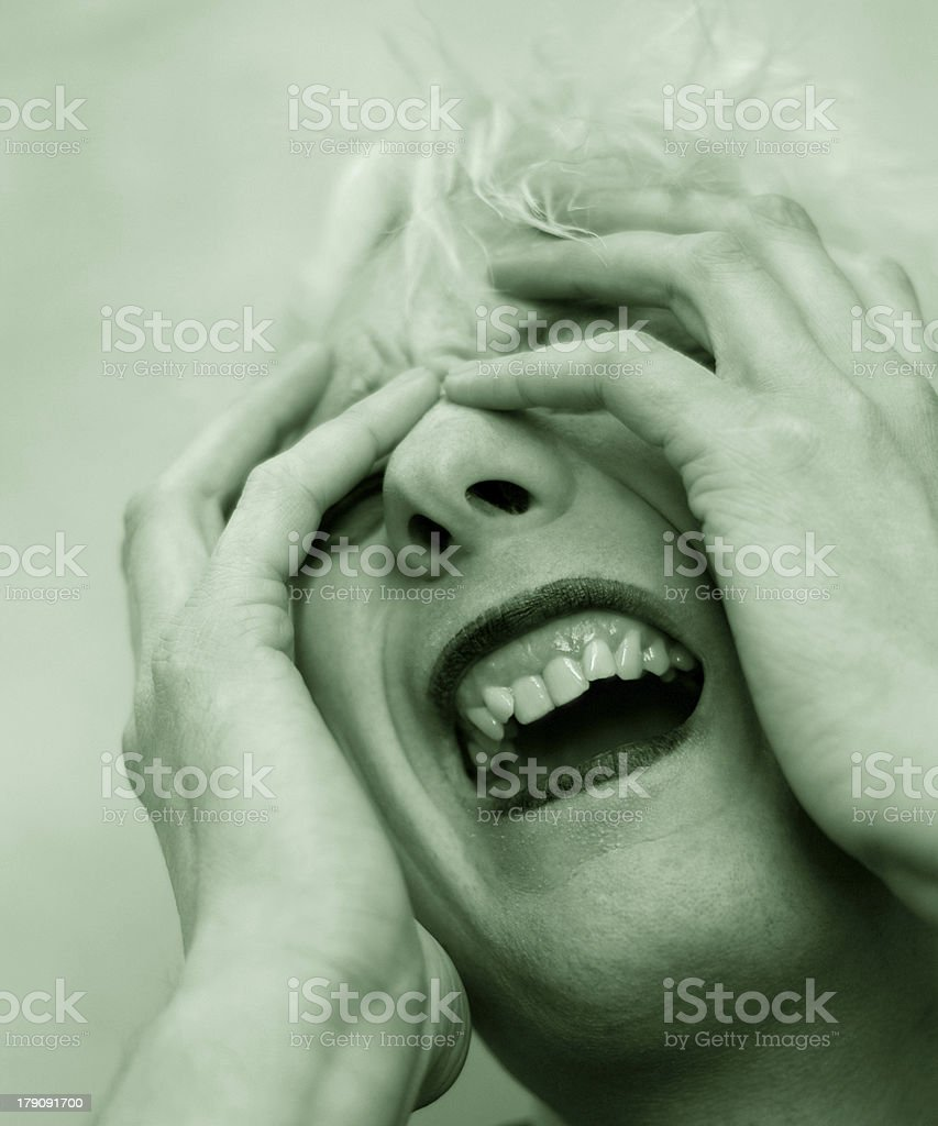 cry of fear stock photo