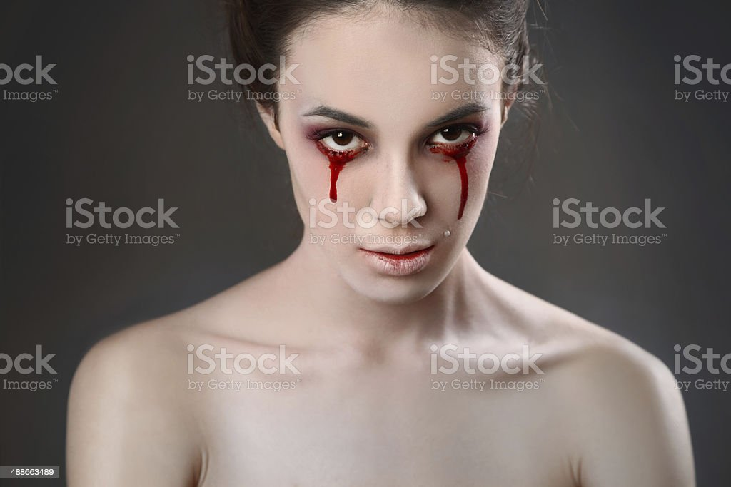 cry stock photo