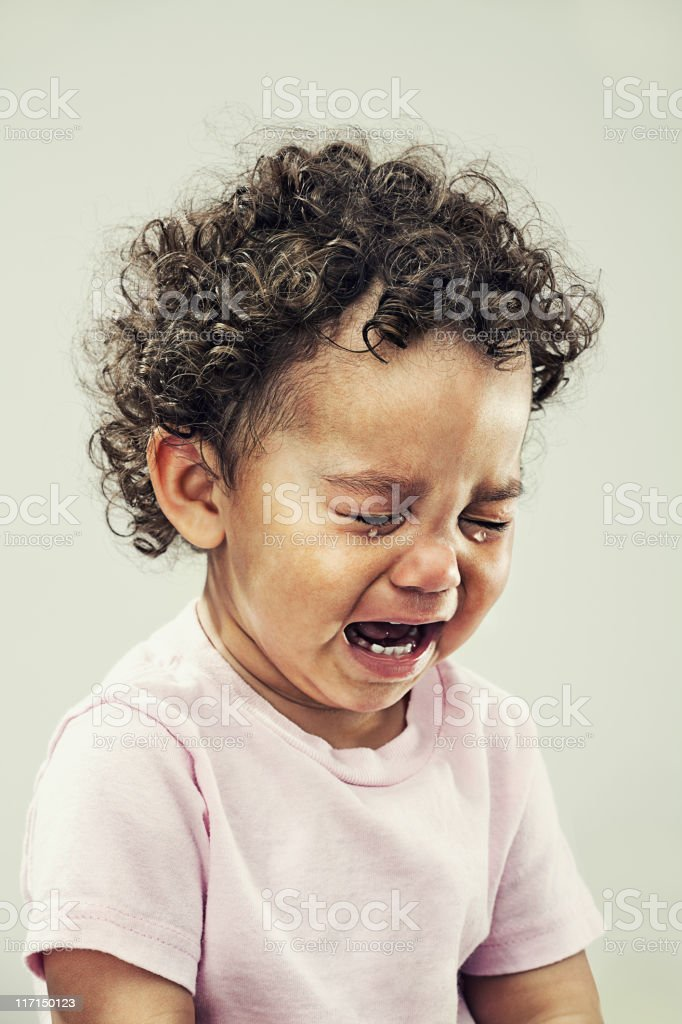 crybaby stock photo