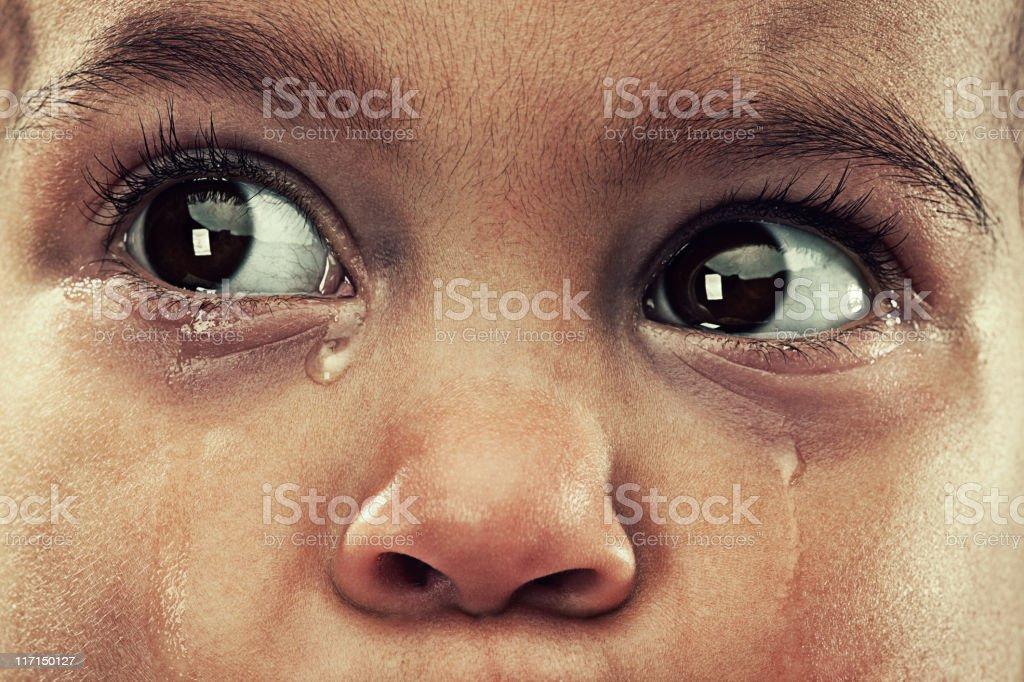 crybaby stock photo