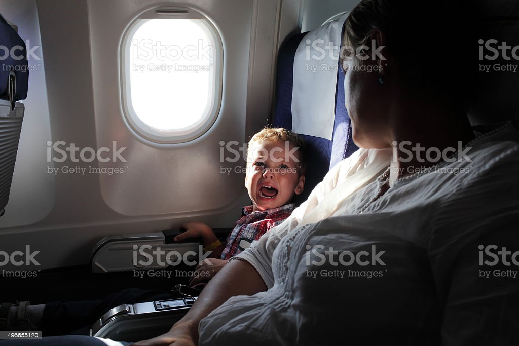 Crying boy stock photo