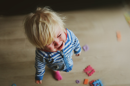 Crying Child Depression And Sadness Stock Photo - Download Image Now