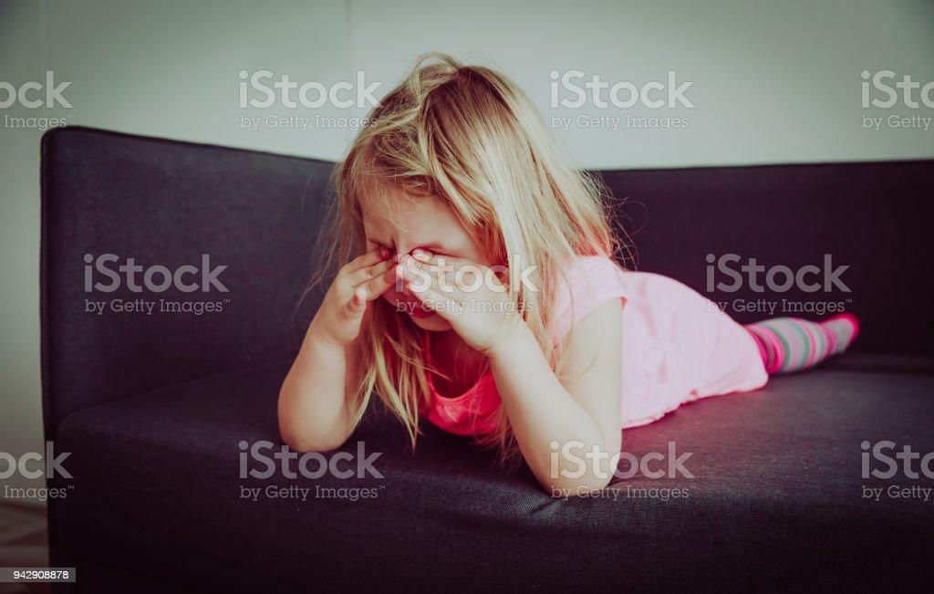 crying child, depression and sadness, stress despair