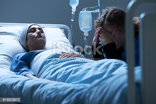 501741686istockphoto Crying friend and weak woman 915323572