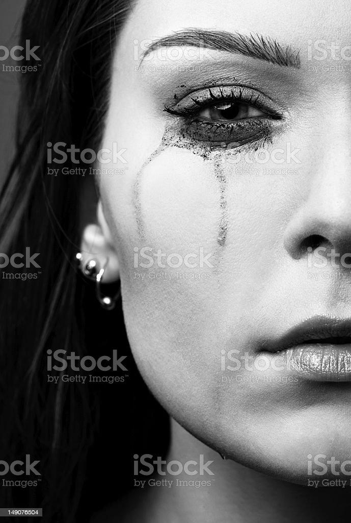 Weinen Mädchen – Foto