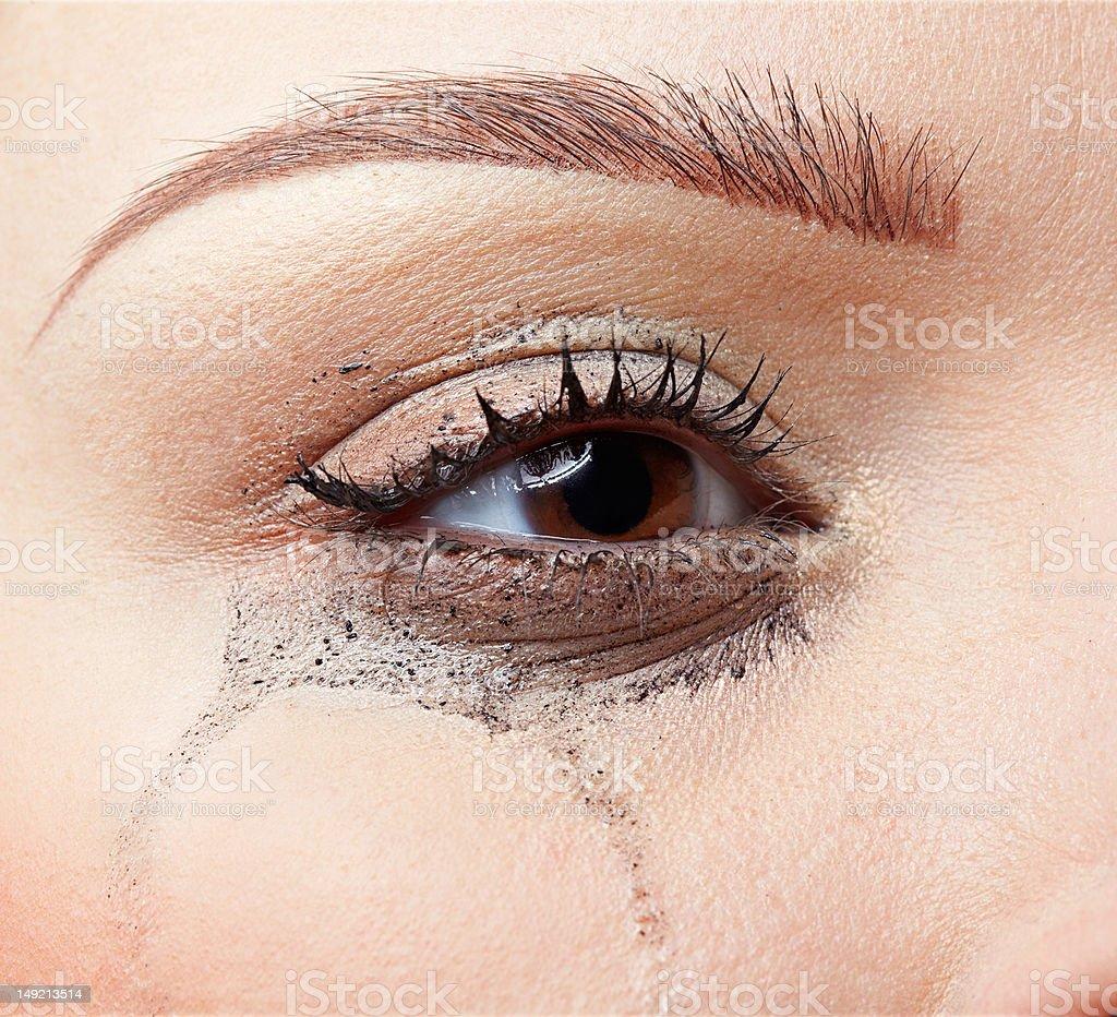 crying girl royalty-free stock photo