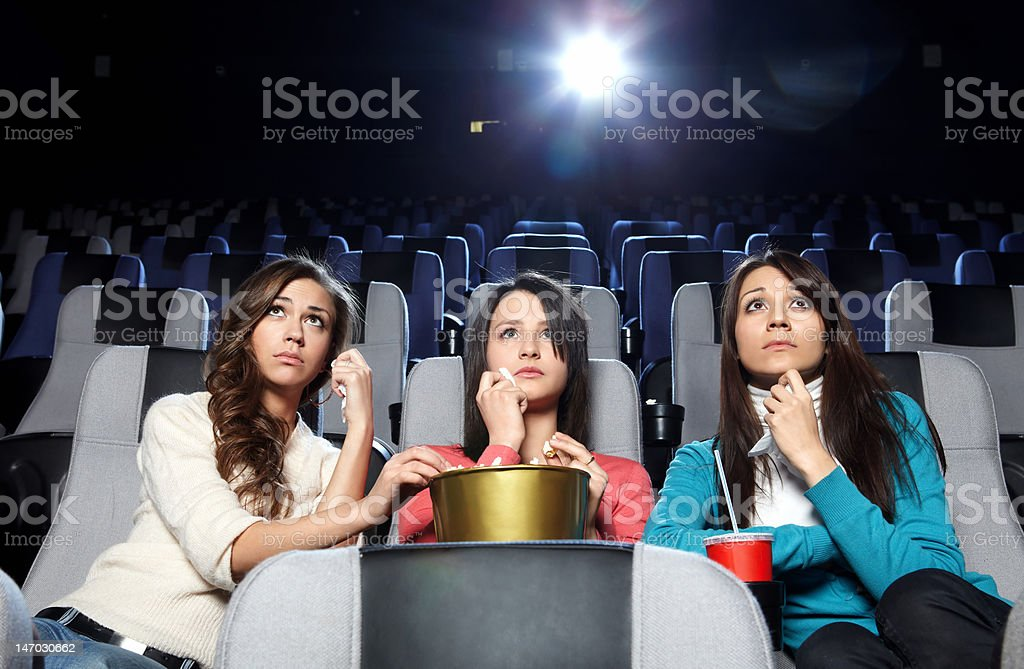 Crying girls royalty-free stock photo