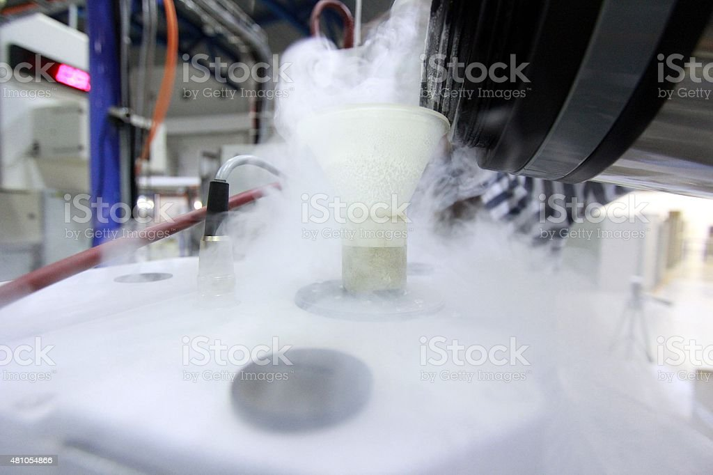 Cryogenic stock photo