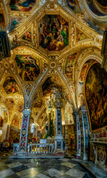 Crypt Of The Amalfi Cathedral stock photo