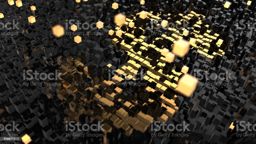 Crypto currency blockchain encryption world networks and finance graphic stock photo