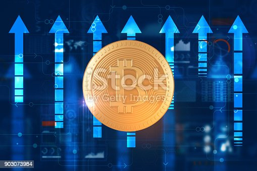 istock Cryptocurrency and success concept 903073984