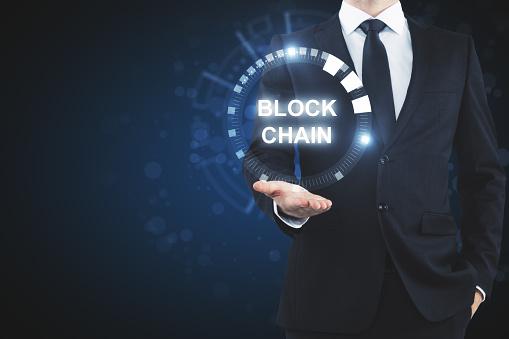 Cryptocurrency En Handel Wallpaper Stockfoto en meer beelden van Bankieren