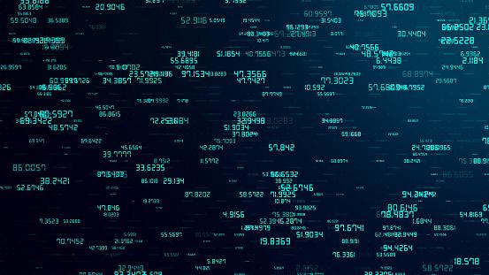 Cryptocurrency Network Concept Blockchain Data Internet ...