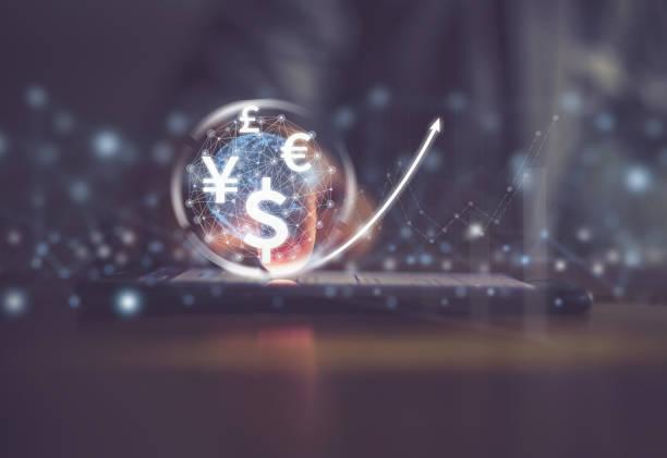 cryptocurrency stock photo