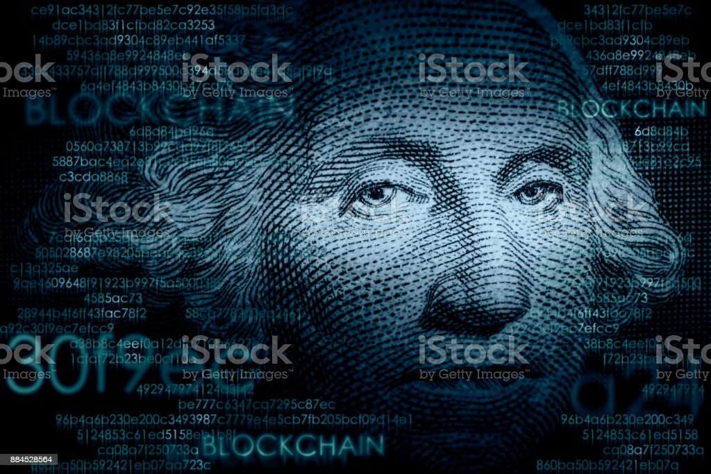 Cryptocurrency - foto de stock