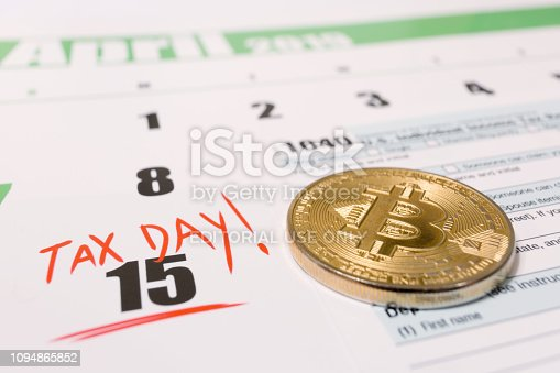 istock USA cryptocurrency tax day april 15 2019 1094865852