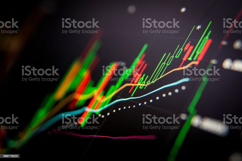 Cryptocurrency Trading stock photo