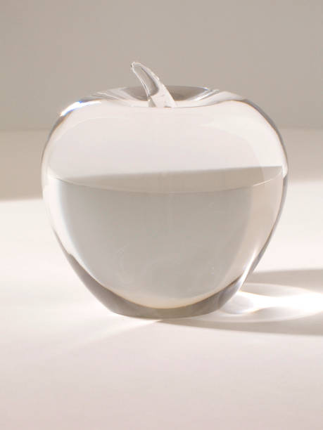 Crystal Apple stock photo