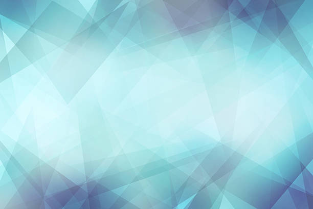 crystal background - fractal stock photos and pictures