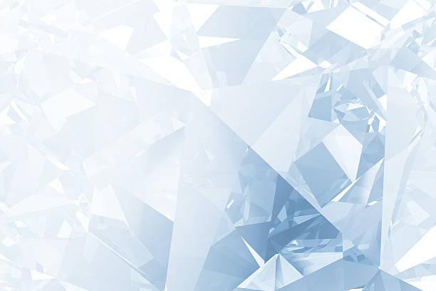 crystal background - ice crystal stock pictures, royalty-free photos & images