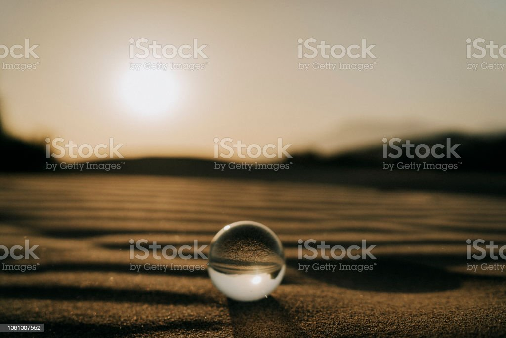 Crystal Ball am Strand – Foto