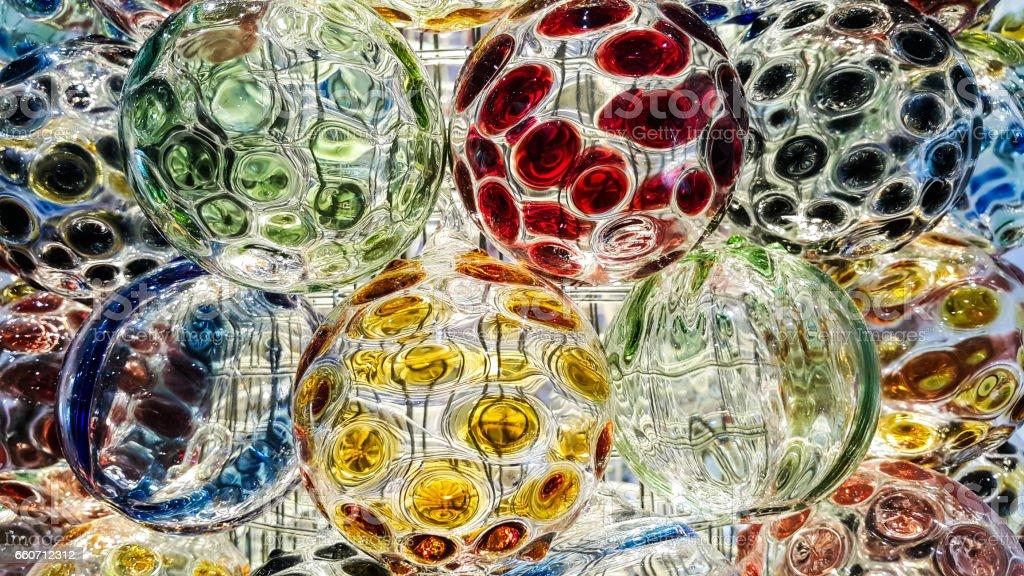 Crystal ball background - foto de acervo