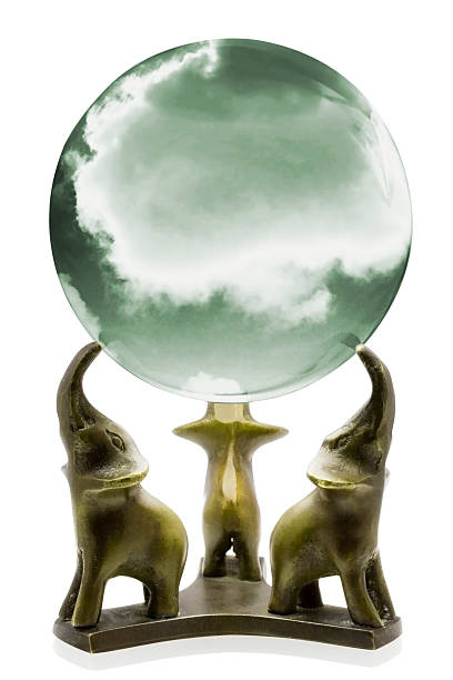 Crystal Ball Fortune stock photo