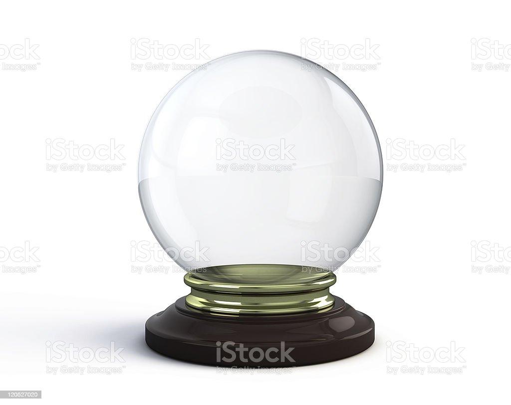 Crystal ball stock photo